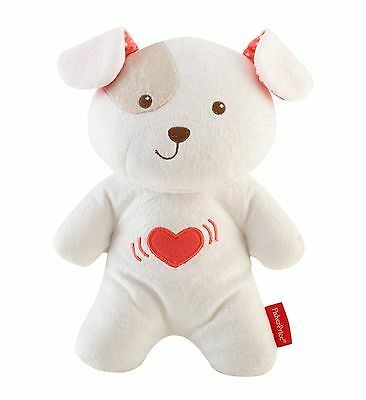 Fisher-Price Snugapuppy Calming Vibrations Soother Bear For Baby Soft Texture