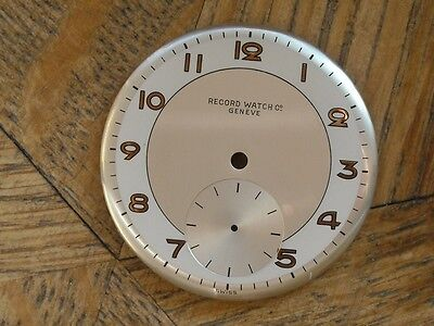 RECORD  Dial from an old stock. n° 12