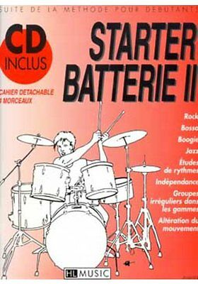 Partition+CD pour percussions - Patrick Billaudy - Starter