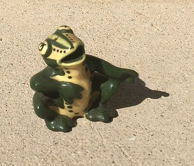 1960's Vintage Ceramic Art Studio Tree Frog Figurine Shaker