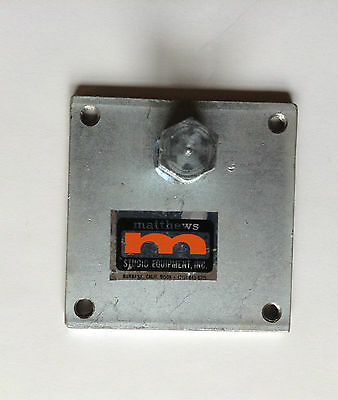 "Matthews Mafer Clamp Mounting Plate 4"" X 4"""