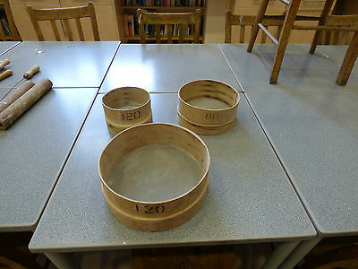 Pottery Sieves as shown in the pictures!