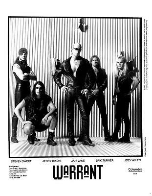 Warrant 8x10 Photo Picture Celebrity Very Nice #1