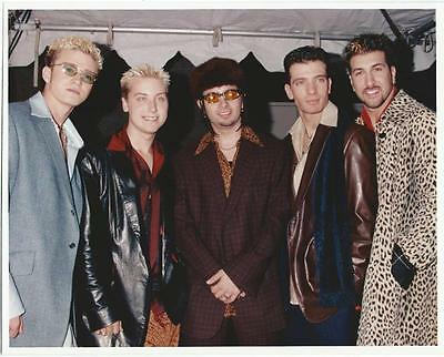 NSYNC 8x10 Photo Picture Celebrity Very Nice #1