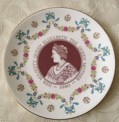 Royal Doulton Queen Elizabeth The Queen Mother Commemorative Plate