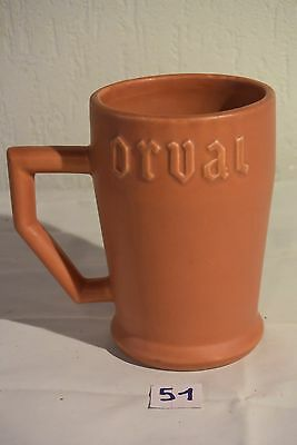 C51 Authentique chope tasse bistrot ORVAL