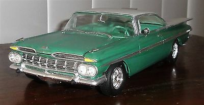 FRESH CUSTOM BUILT 1959 CHEVY IMPALA by REVELL in 1:25 SCALE