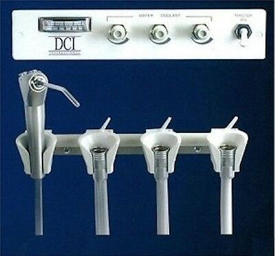 DCI Panel Mount Automatic Control Flush Unit for 3 Handpieces & Syringe #4415