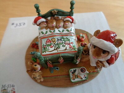 WEE FOREST FOLK ~ SURPRISED SANTA ~ M514s ~ MINT IN BOX ~ #350/500 ~ NEW