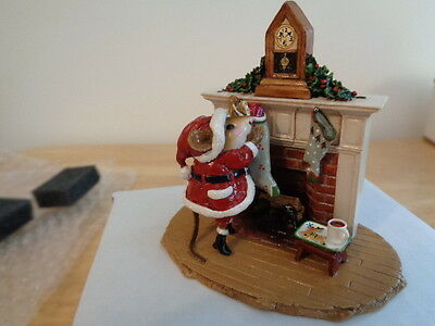 Wee Forest Folk ~ A Visit From St Nick ~ M471~ Mint In Box  ~ New
