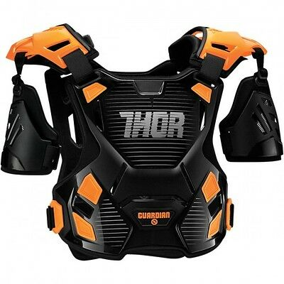 Youth guardian roost deflector black/orange 2x-small/x-small ... - Thor 27010804