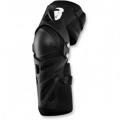 Youth force xp knee guard black one size - 2704-0431 - Thor 27040431