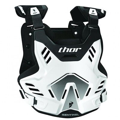 Sentinel gp s16 roost deflector white/black x-large/2x-large ... - Thor 27010749