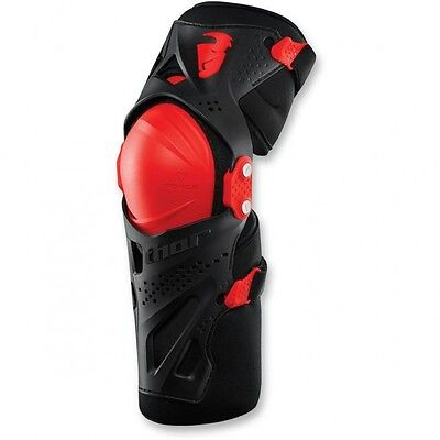 Force xp knee guard red small/medium - 2704-0362 - Thor 27040362