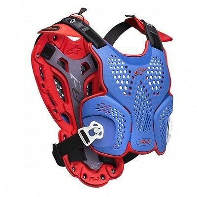 Mxon limited edition a-1 offroad roost guard blue/red... - Alpinestars  27010813