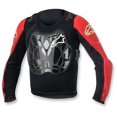 Youth bionic off road protection jacket one size blac... - Alpinestars  27020195