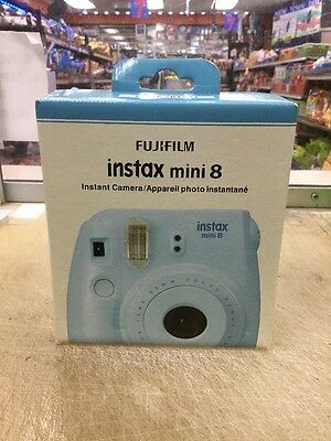 Genuine FujiFilm Instax Mini 8 Instant Film Camera (Blue) Brand New