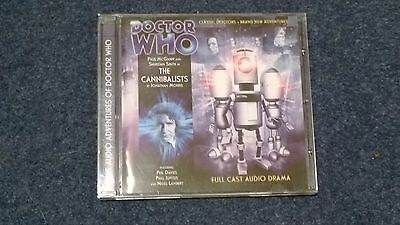Doctor who BIG FINISH audiobook - 3.6  (CD)  - THE CANNIBALISTS