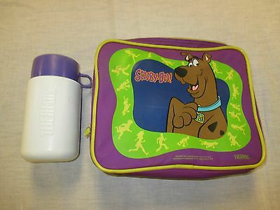 "Vintage, Collectible ""Scooby Doo"" Nylon (Waterproof) Lunch Box w/ Thermos"
