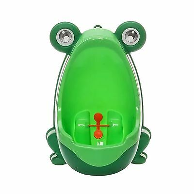 Cute Frog Children Potty Toilet Training Kids Urinal for Boys Pee Trainer Bat...