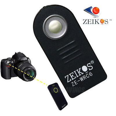 Remote Wireless Control Shutter Trigger ZEIKOS ZE-WRC-6 For CANON with case
