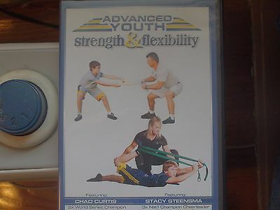 Youth Wresting instructional DVD, Strength and Flexibility, Dave Mills