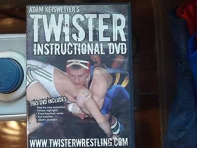 Youth Wresting instructional DVD, Twister step by step instructions