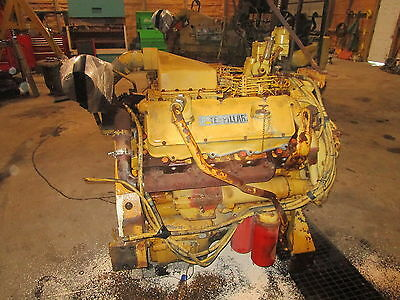 Caterpillar 3408 Diesel Engine COMPLETE TAKEOUT NICE! V8 CAT