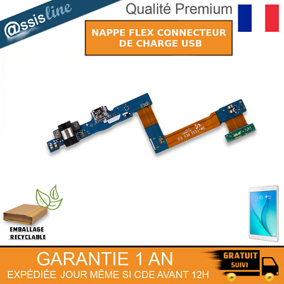 "Nappe Flex Connecteur De Charge Usb Samsung Galaxy Tab A 9.7"" Sm-T550 Sm-T555"