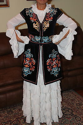 Kyrgyz National Costume Clothing And Accesorries