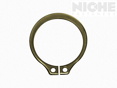 Snap Retaining Ring External 3-1/4 Spring Steel ZY (10 Pieces)