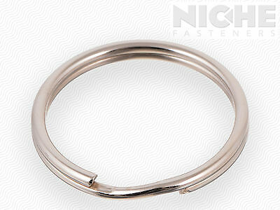 Split Retaining Ring 2.24 x 2.016 x .112 Temp Steel NI (20 Pieces)