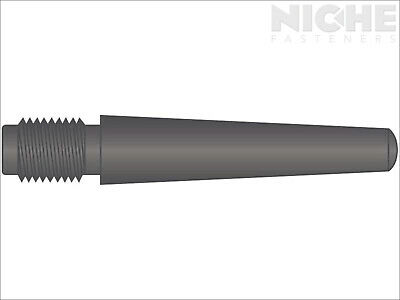 Taper Pin Threaded External #11 x 10 Carbon Steel