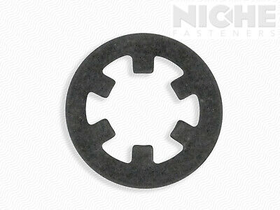 Push-On External Retaining Ring 1/4 SS (50 Pieces)