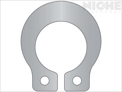 Grip Retaining Ring External 3/32 Stainless Steel (25 Pieces)