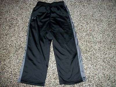 UNDER ARMOUR New NWT Youth Kids Pants Athletic Black 4