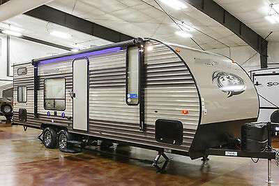 New 2017 26BH Limited Lite Bunkhouse Travel Trailer Camper with Bunks Never Used