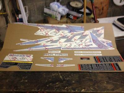 NEW Polaris OEM NOS 1997 1998 XCR 440 Hood & Nose Decal Set Kit 2200869