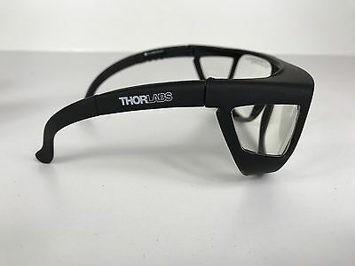 ThorLabs LG6 Laser Safety Glasses, Clear Lenses, 93% Visible Light Transmission