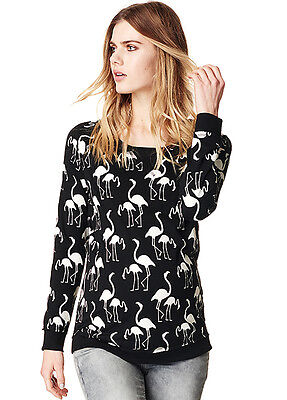 NEW - Supermom - Stef Flamingo Print Jumper - Maternity Jumper