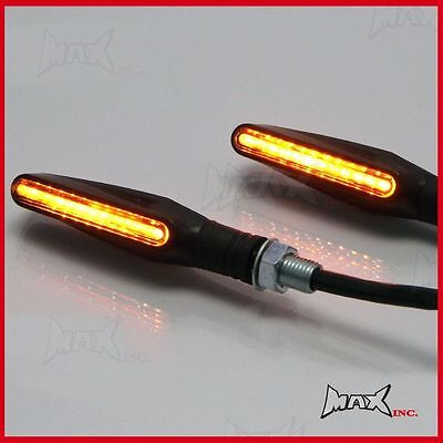 Universal LED Turn Signals Indicators Binkers - Harley Davidson Dyna / Softail