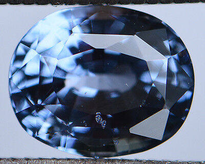 2.60Cts Certified Natural Unheated Oval Cut Ceylon Blue Spinel Gemstone