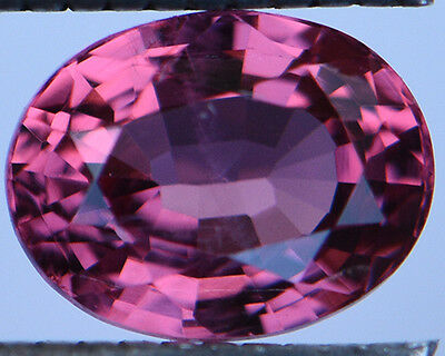 1.09 Cts Certified Natural Unheated Oval Cut Burma Pink Spinel Gemstone