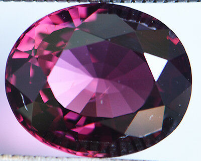 4.53 Cts Certified Natural Unheated Oval Cut Ceylon Pink Spinel Gemstone