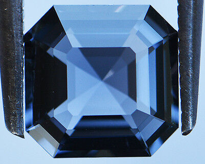 2.36 Cts Certified Natural Unheated Cushion Cut Ceylon Blue Spinel Gemstone