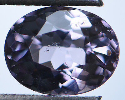 1.54 Cts Certified Natural Unheated Oval Cut Ceylon Purple Spinel Gemstone
