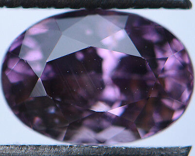 1.57 Cts Certified Natural Unheated Oval Cut Ceylon Pink Spinel Gemstone