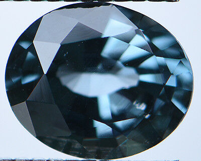1.04Cts Certified Natural Unheated Oval Cut Ceylon Blue Spinel Gemstone