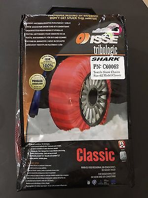 Shark Classic Textile Issue Snow Socks/Chains Size 62 C60062