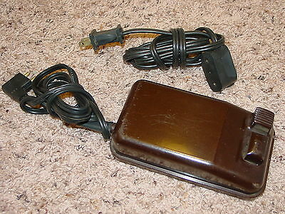 Genuine Singer Sewing Motor Speed Controller 197629 w/ 3-Prong Cord Vintage USA